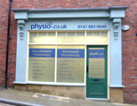 Exterior image of Physio.co.uk Stockport Clinic