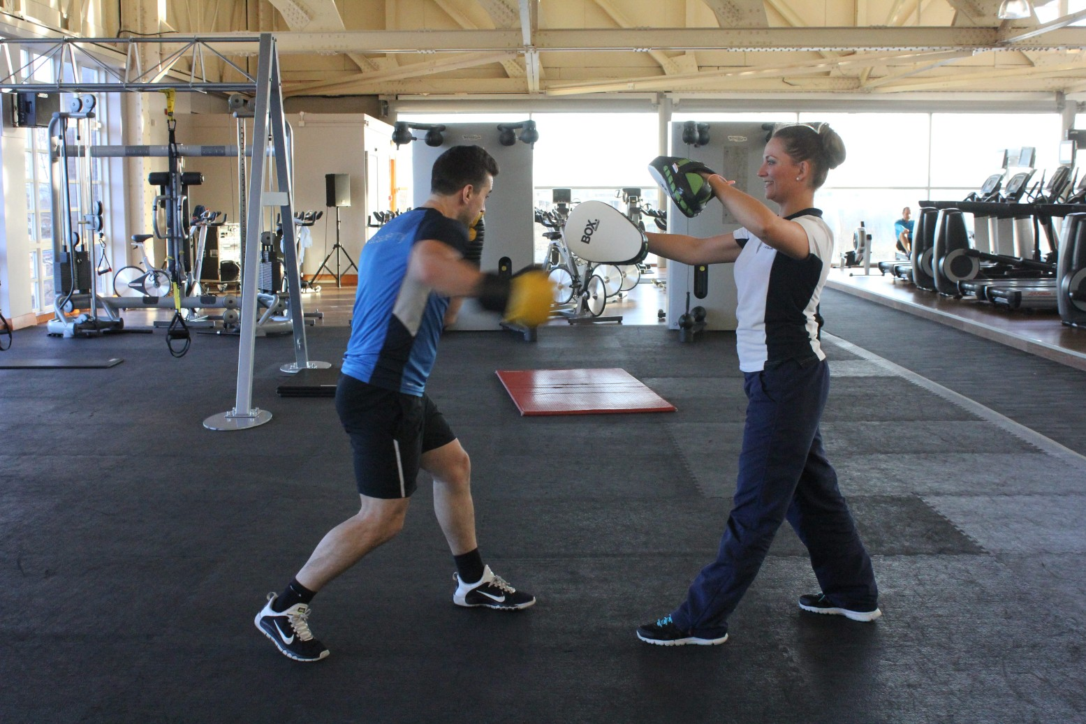 One to one personal training with Physio.co.uk