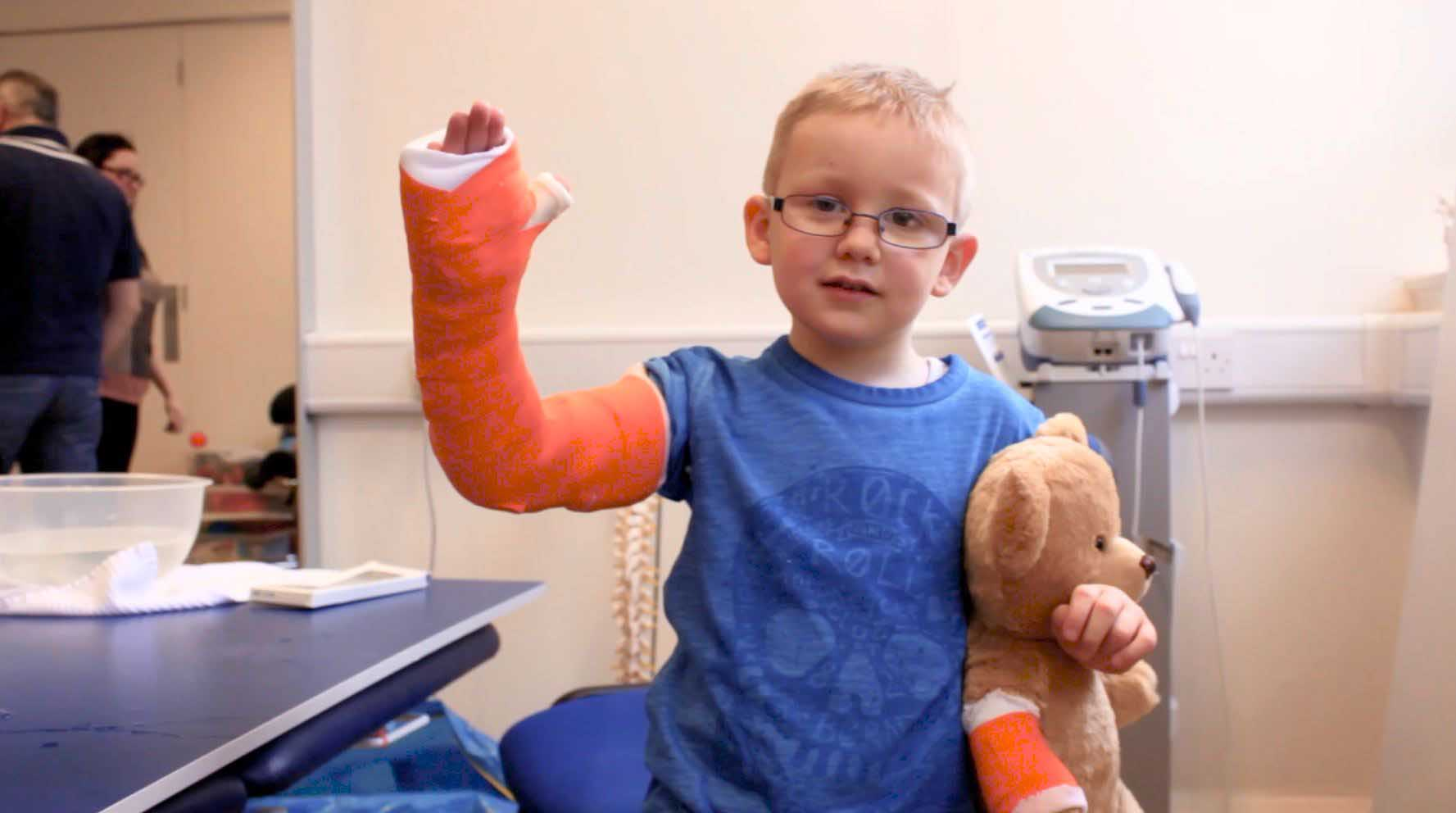 Our CIMT programme can help change a childs life enabling them to become more confident in using their affected limb.