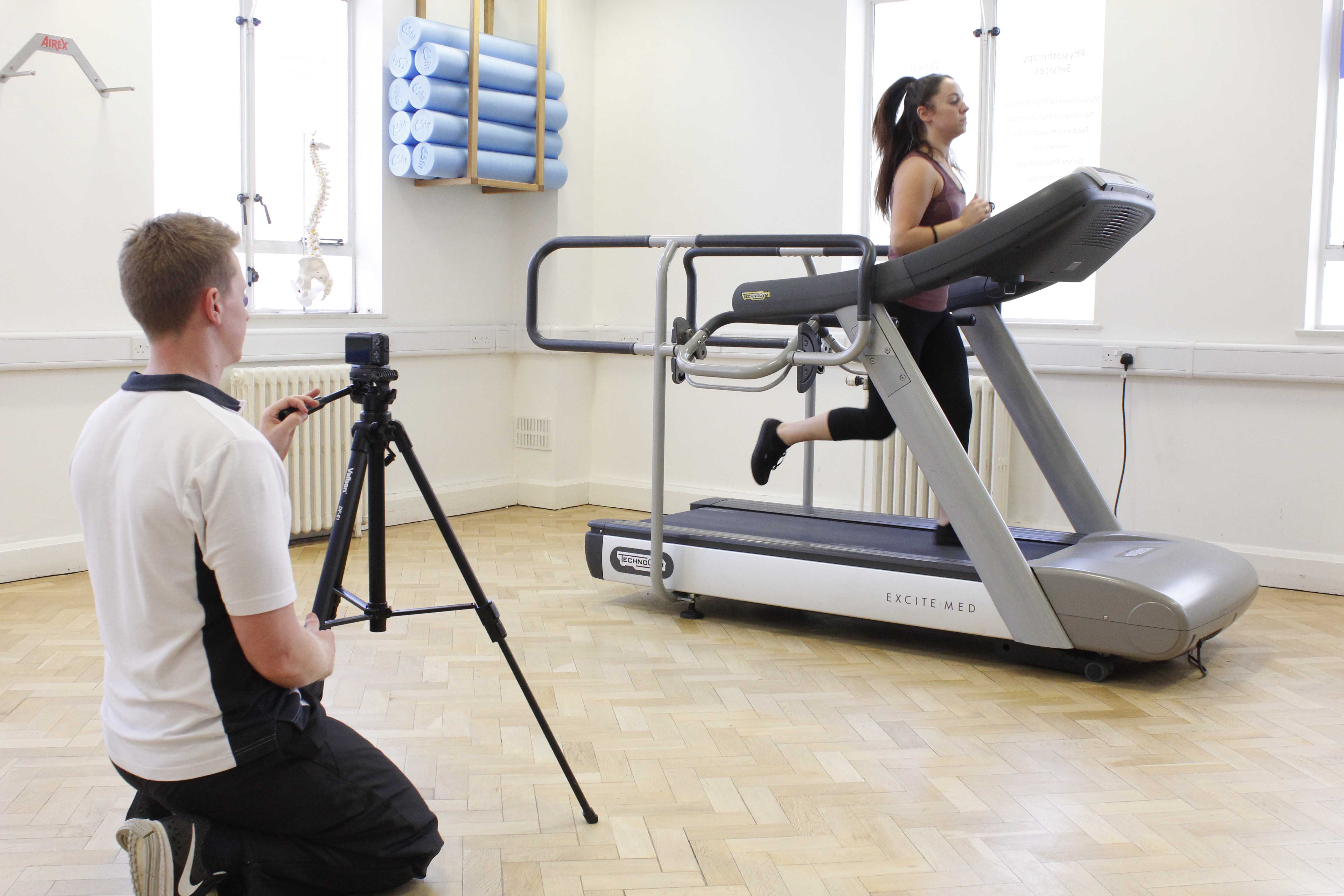 Biomechanical assessment for runners using videography