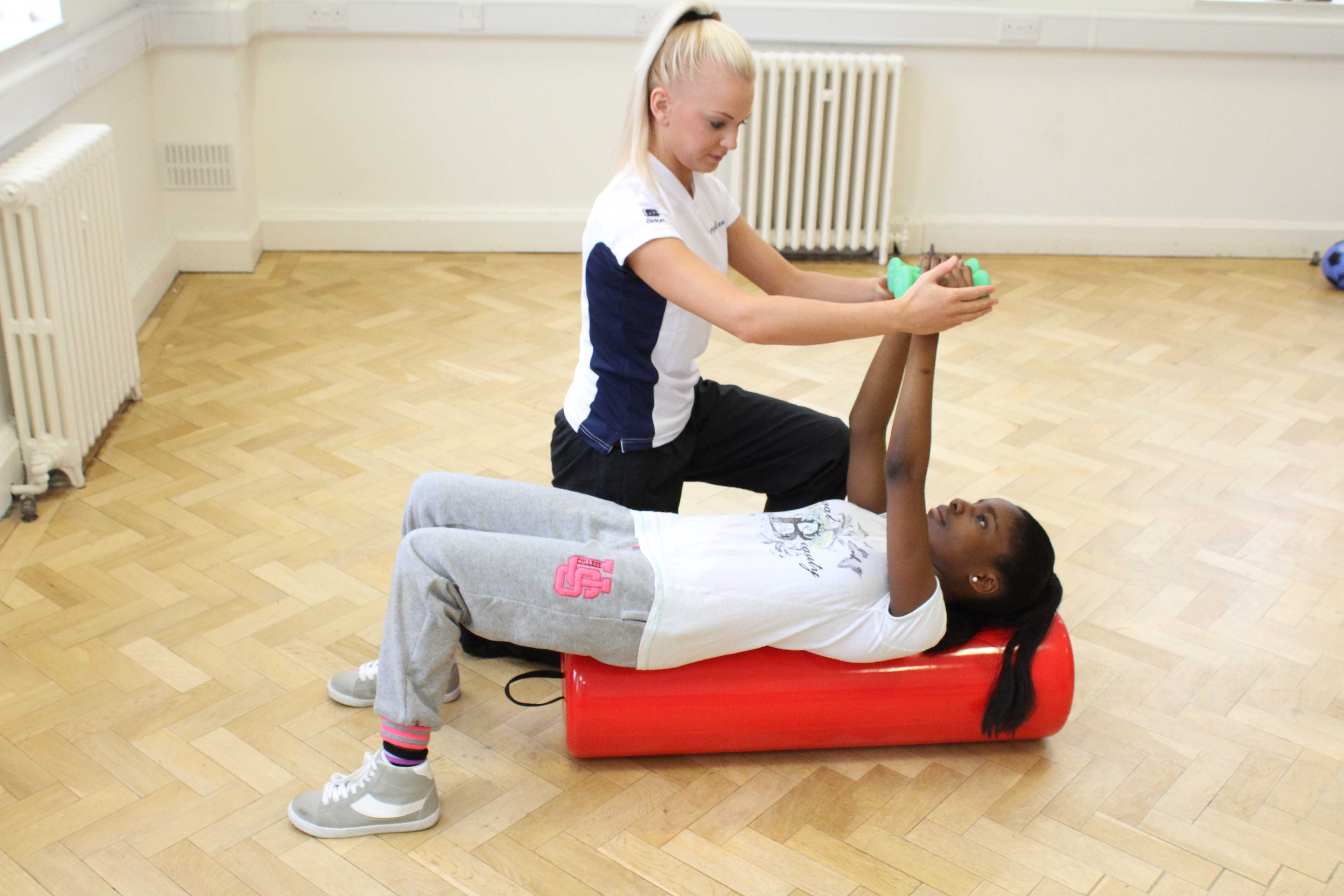 Physiotherapist led targeted paediatric exercise program.