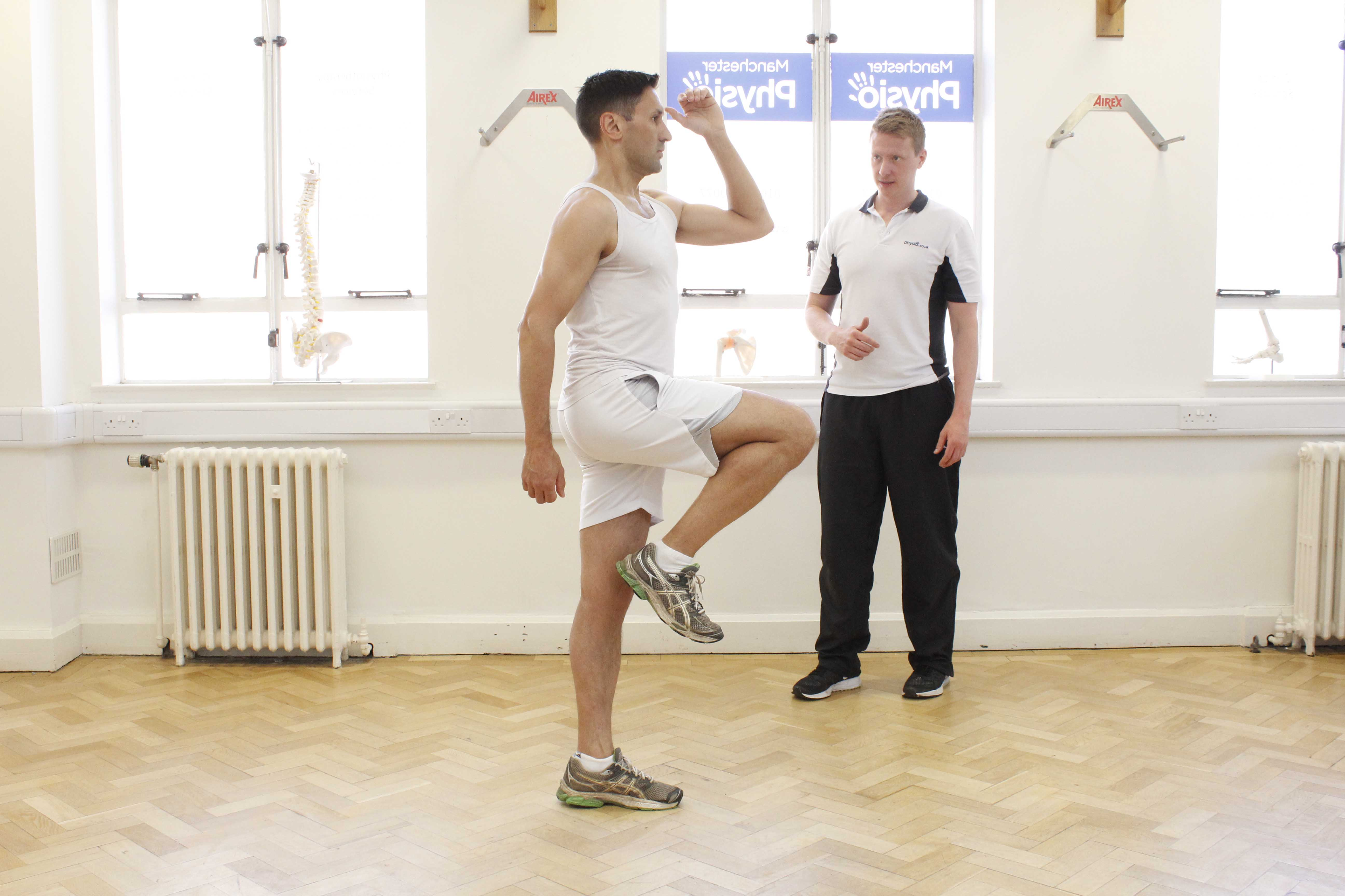 Functional movement assessment led by physiotherapist