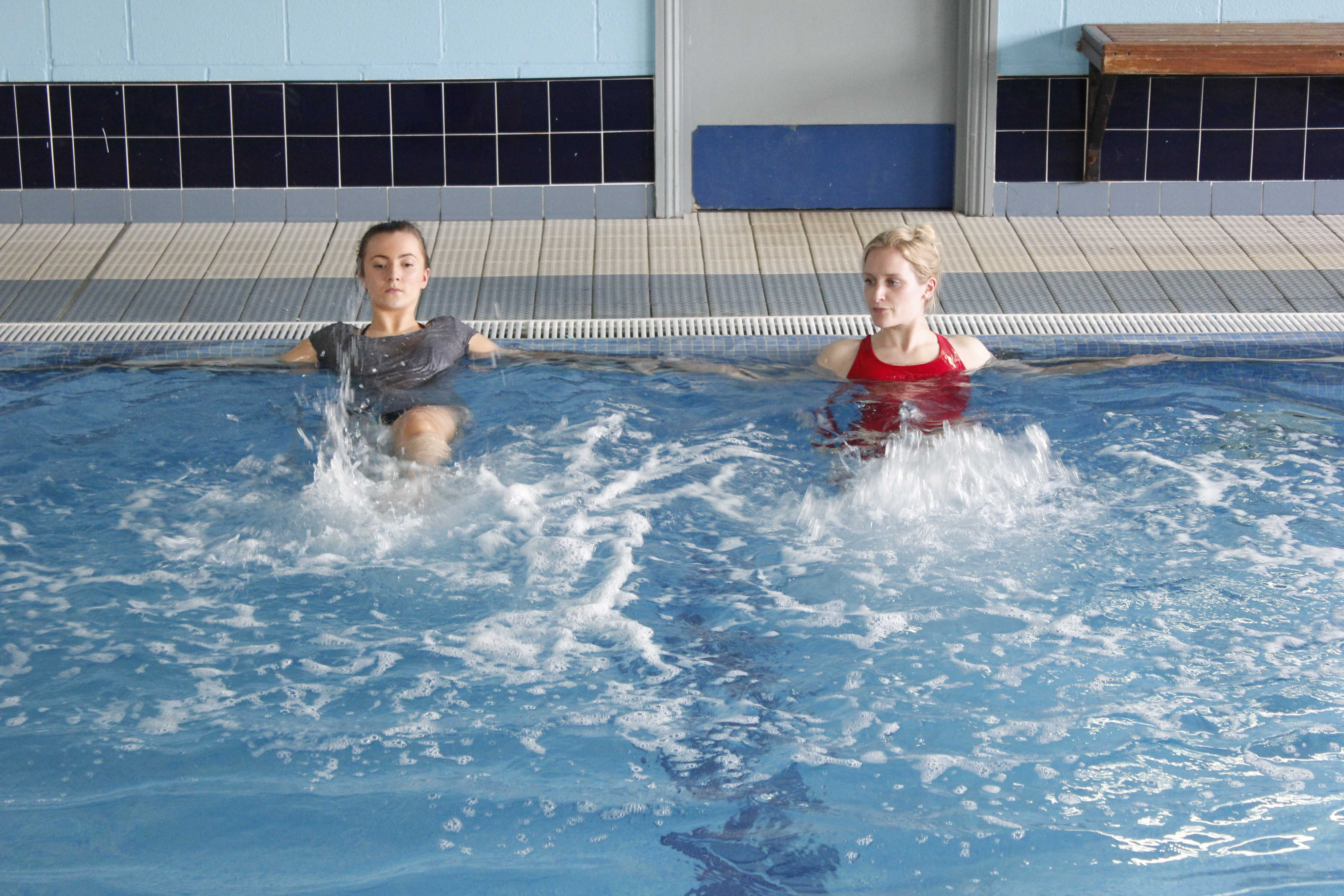 Your physiotherapy sessions will take place in specialised hydrotherapy pools