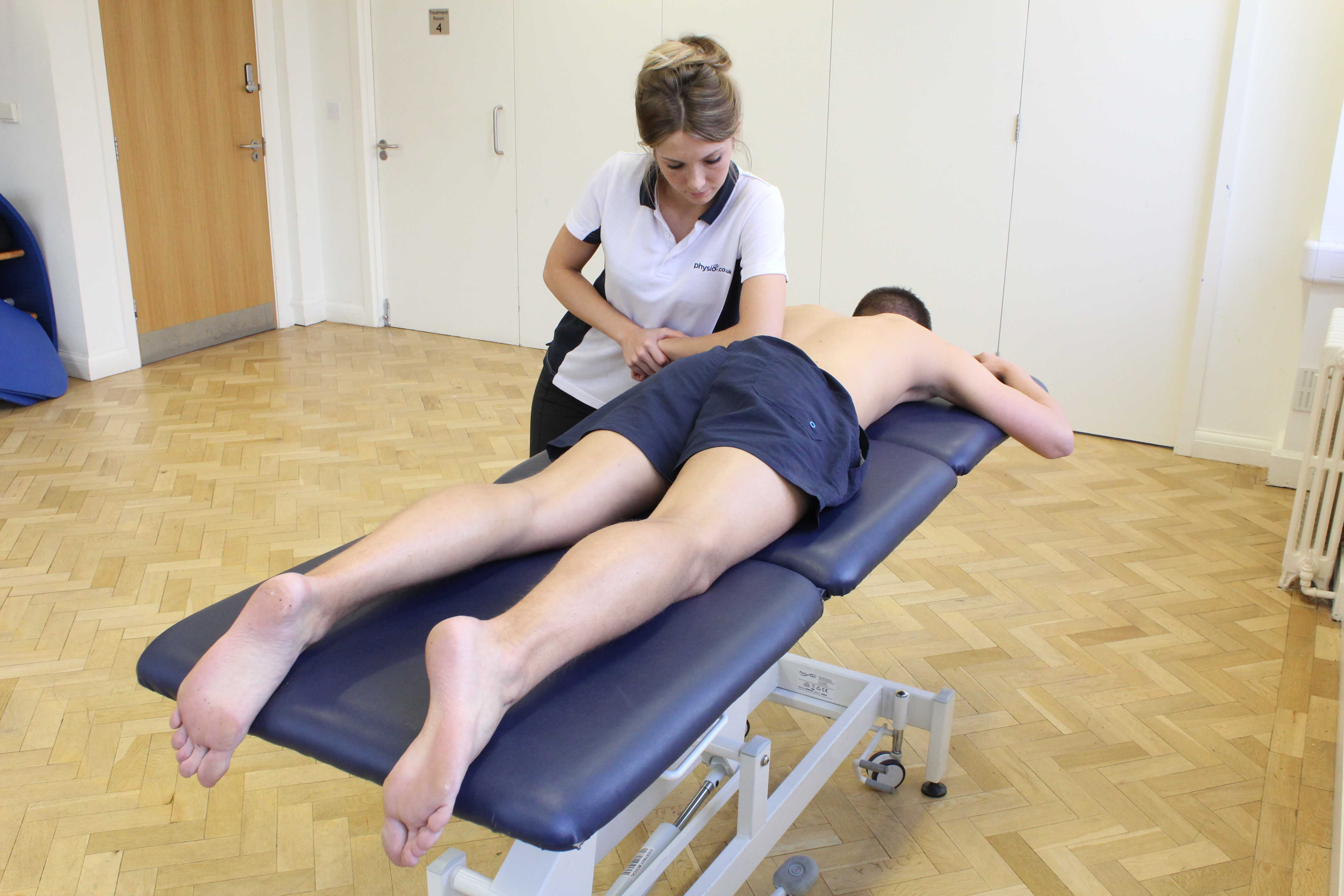 Deep tissue massage can help lower muscle tone and relieve joint stiffness