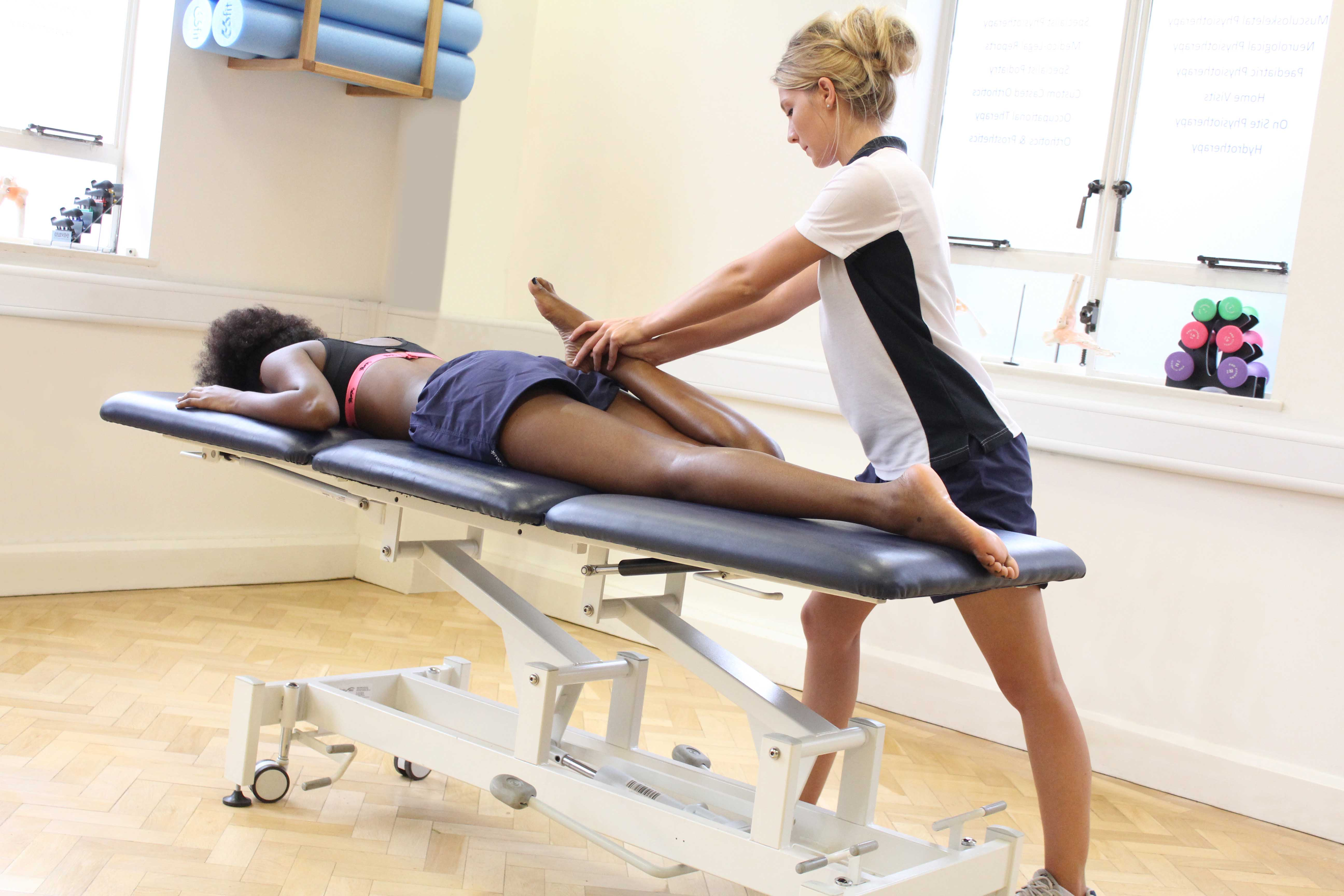 mechanical massage from one of our experienced therapists