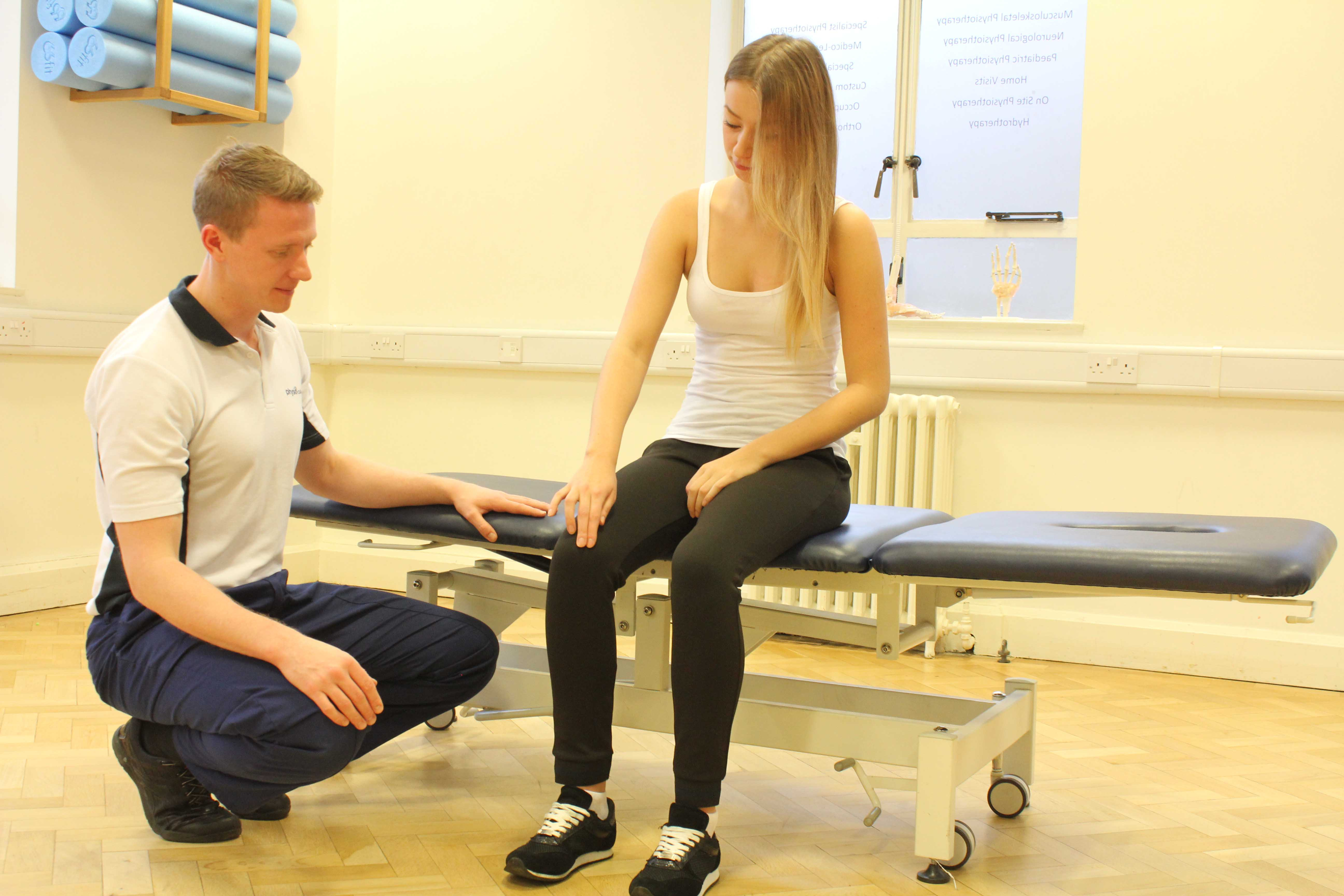 Physiotherapy subjective assessment of the knee