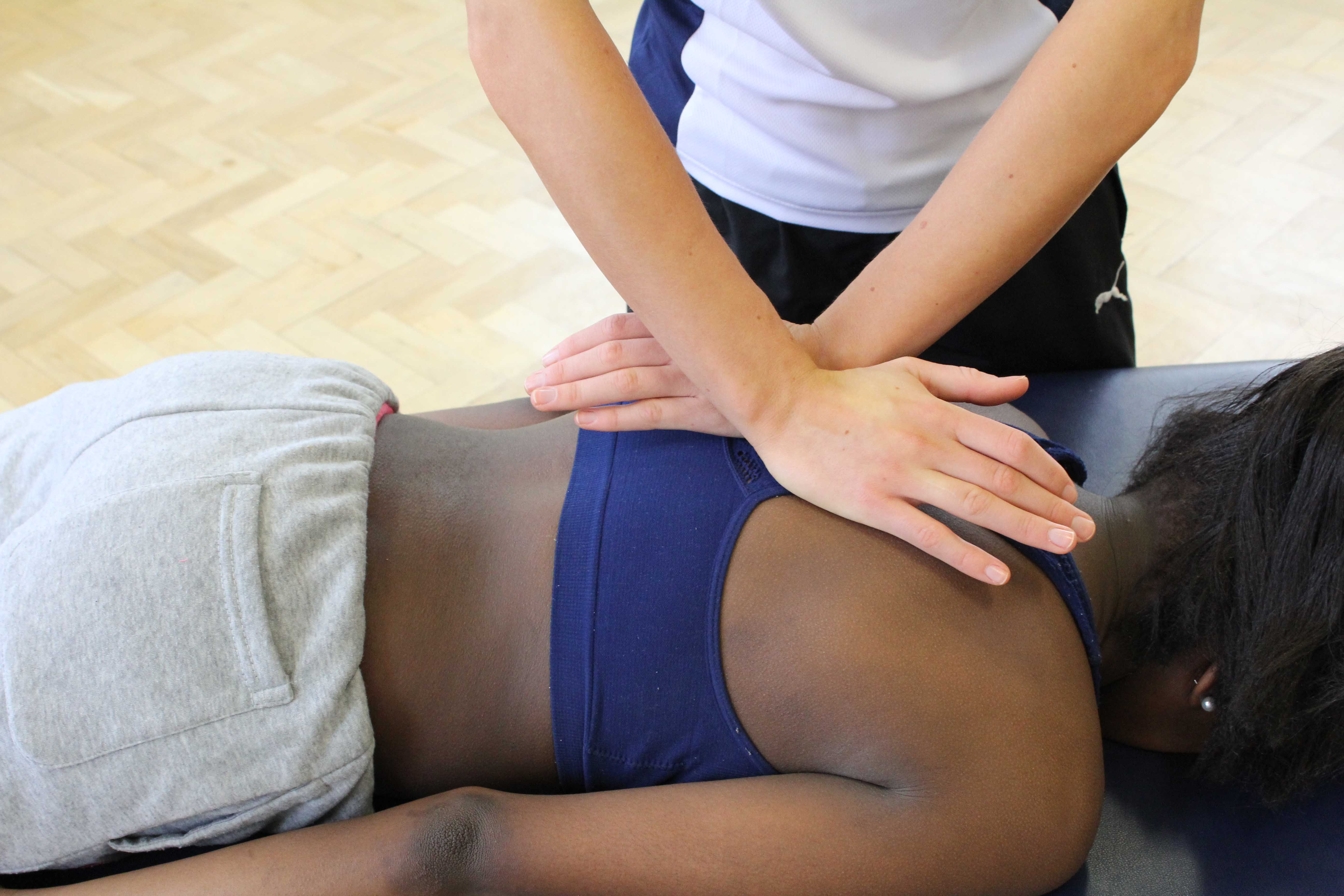 Nags and Snags in a form of manula therapy performed by physiotherapists in order to increase the range of movement around a joint.