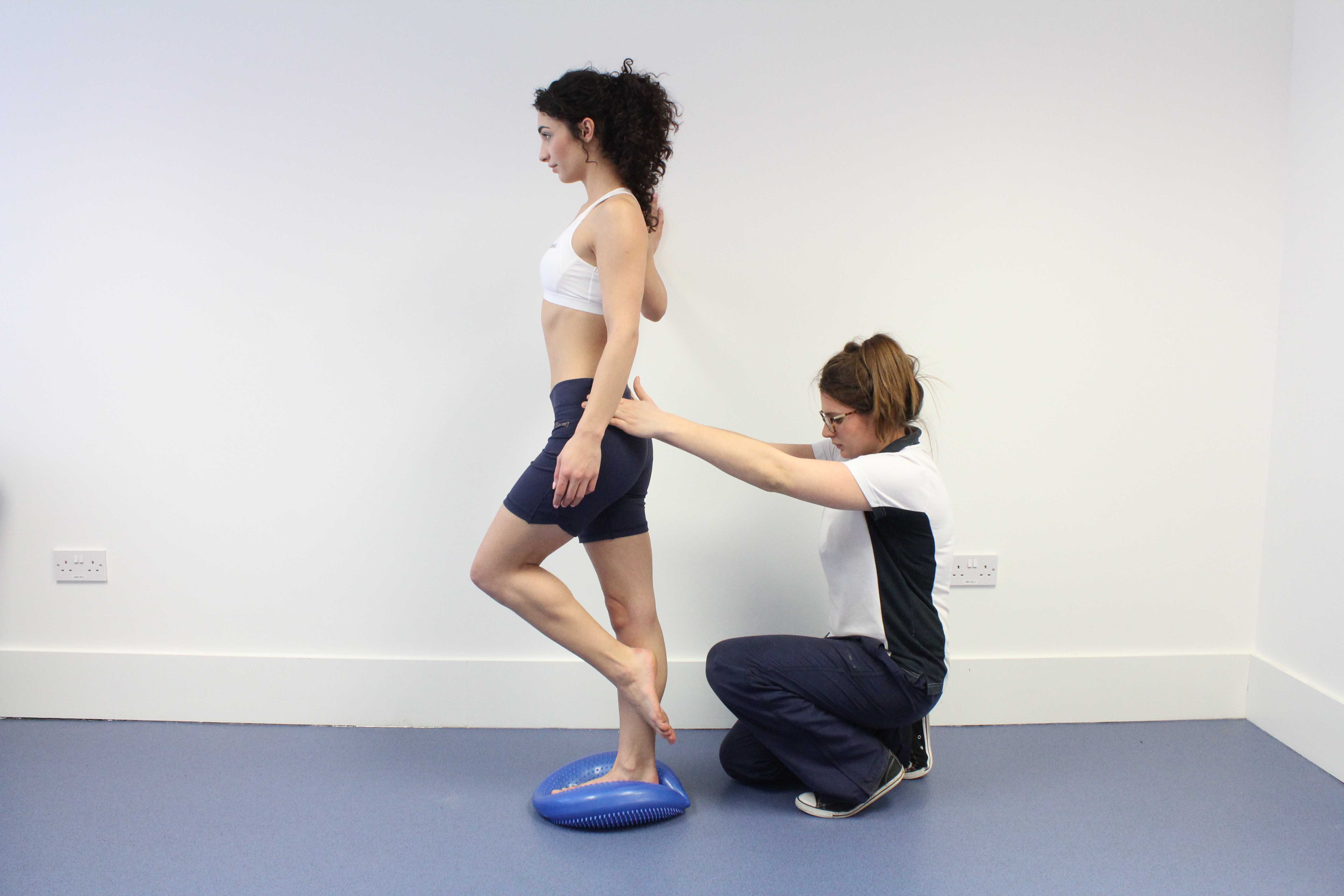 Stability training for the foot and ankle