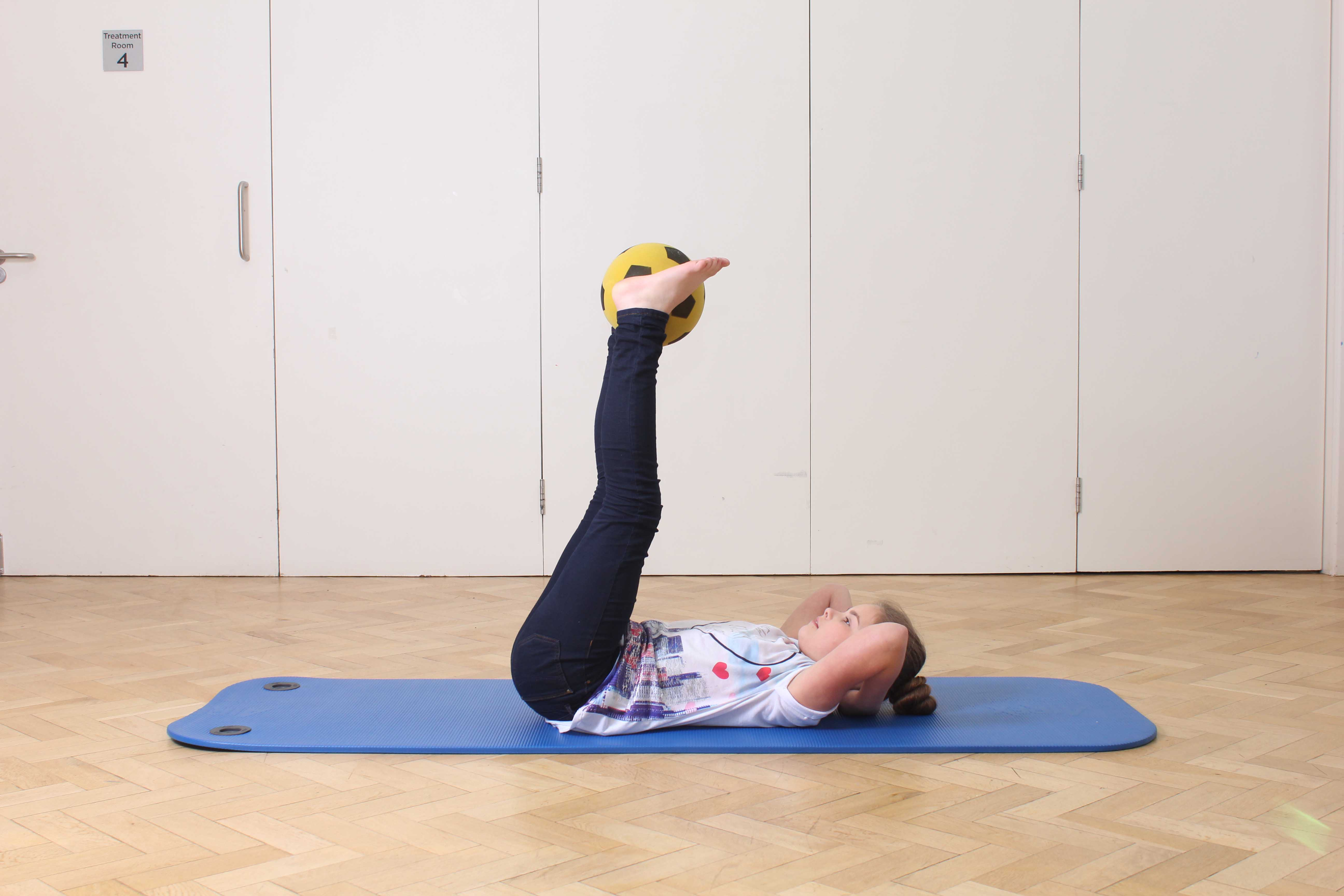 Lower limb stength and mobility exercises supervised by a specialist physiotherapist