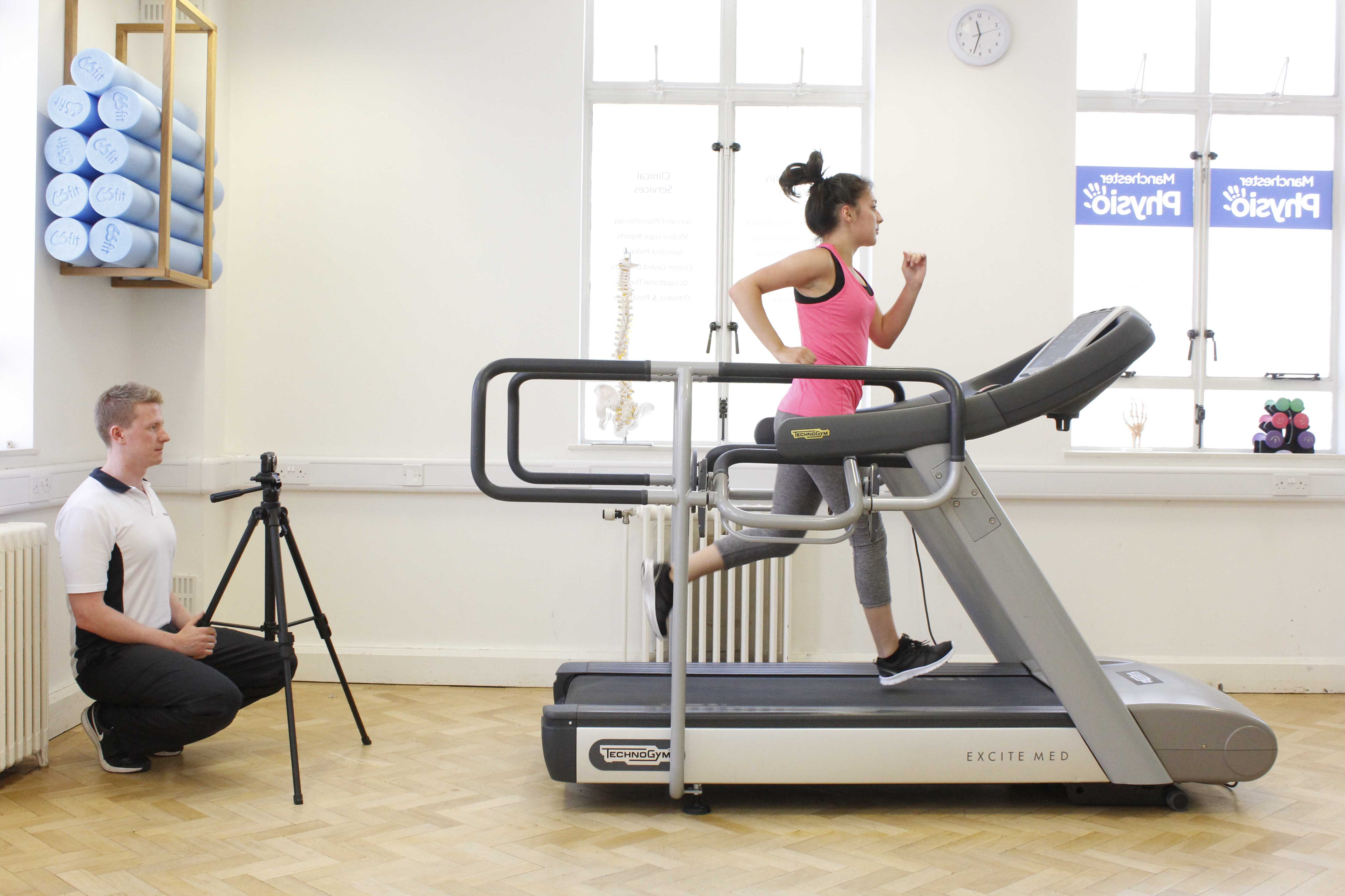 Biomenchanical Assessment using video analysis and a specialist treadmill