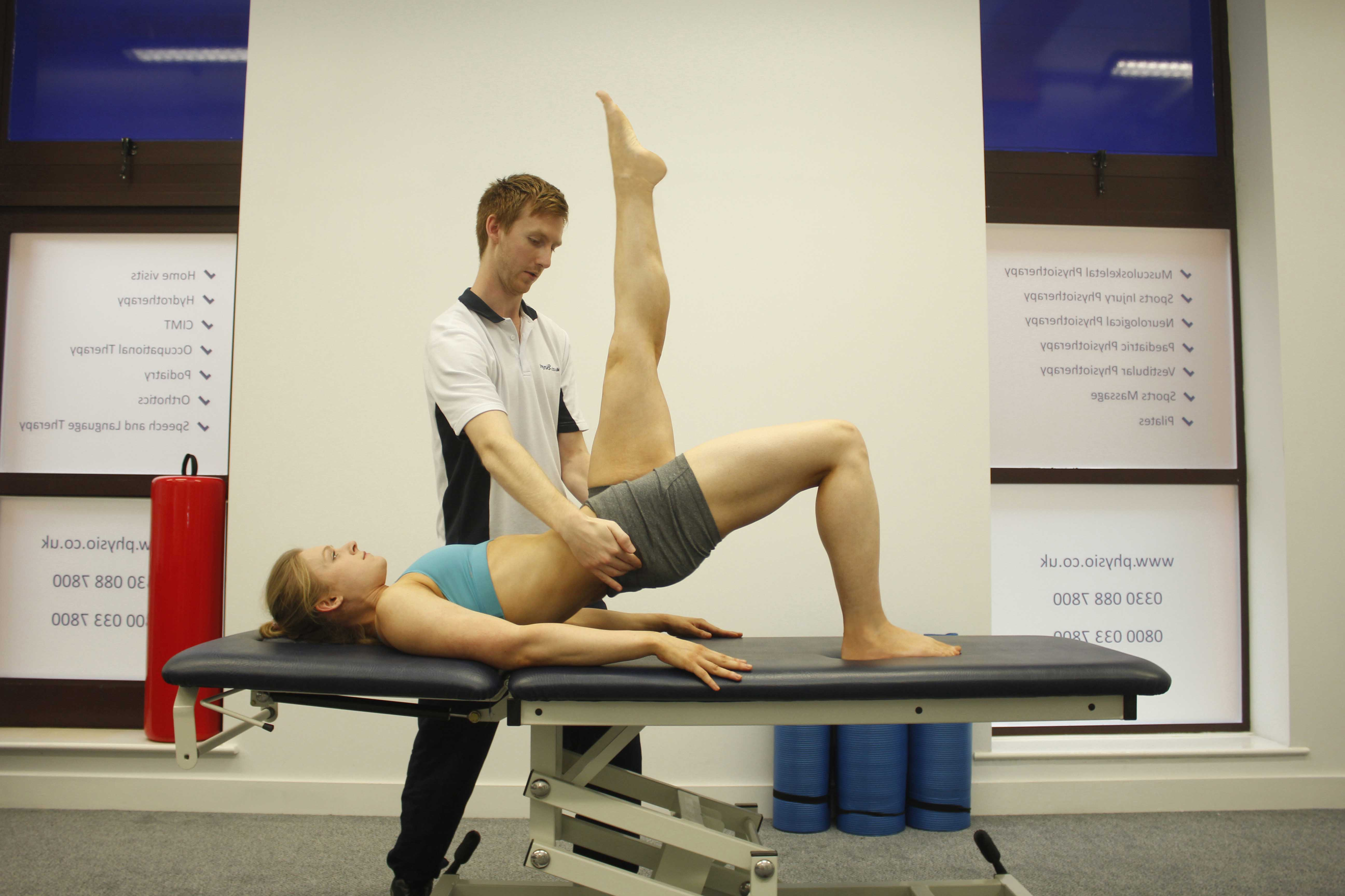 Our therapists may incorporate pilates based exercises into treatment sessions to target specific areas of weakness.