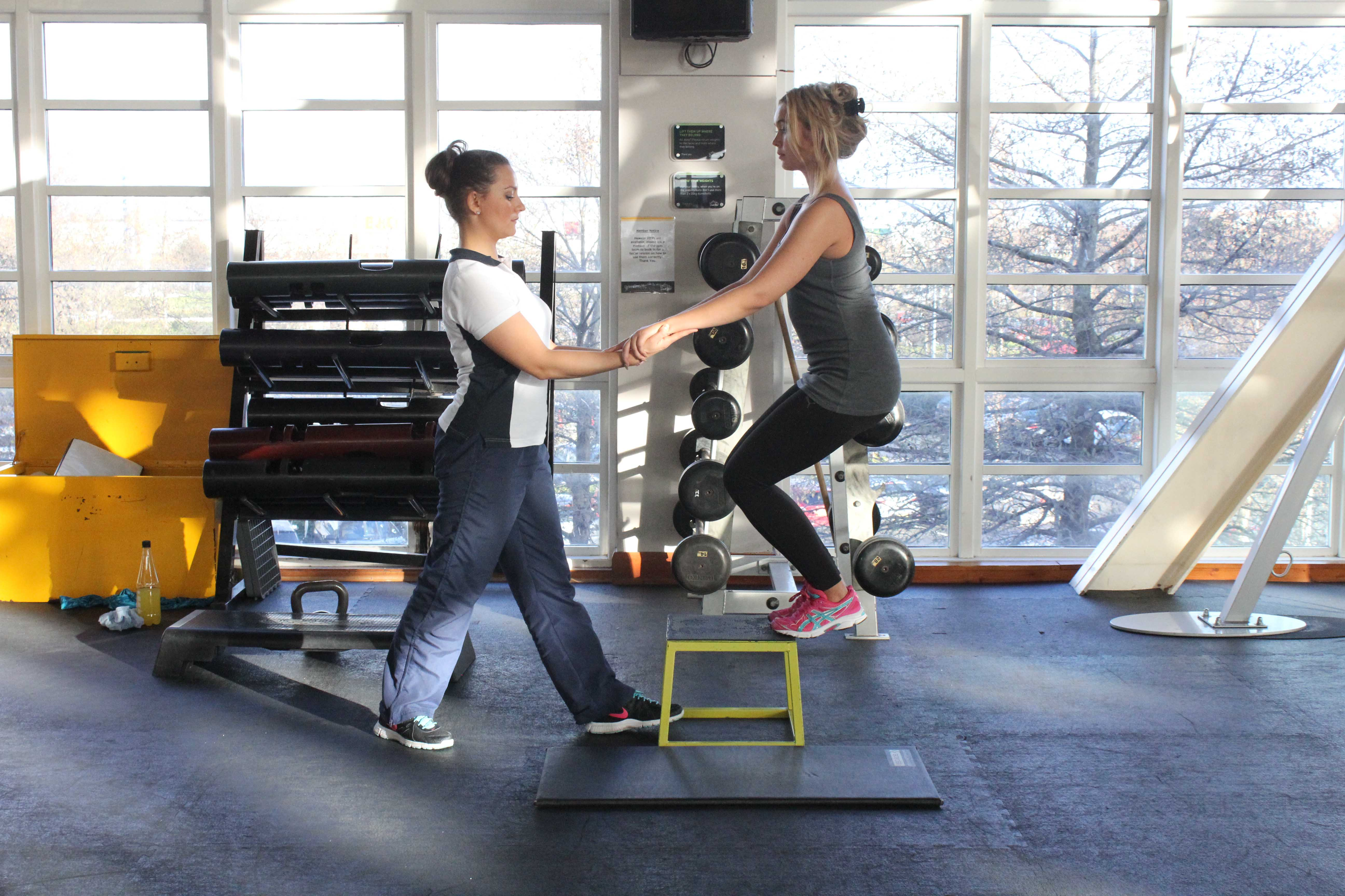 Progressive strengthening exercises for the foot and ankle, assisted by specialist MSK physiotherapist