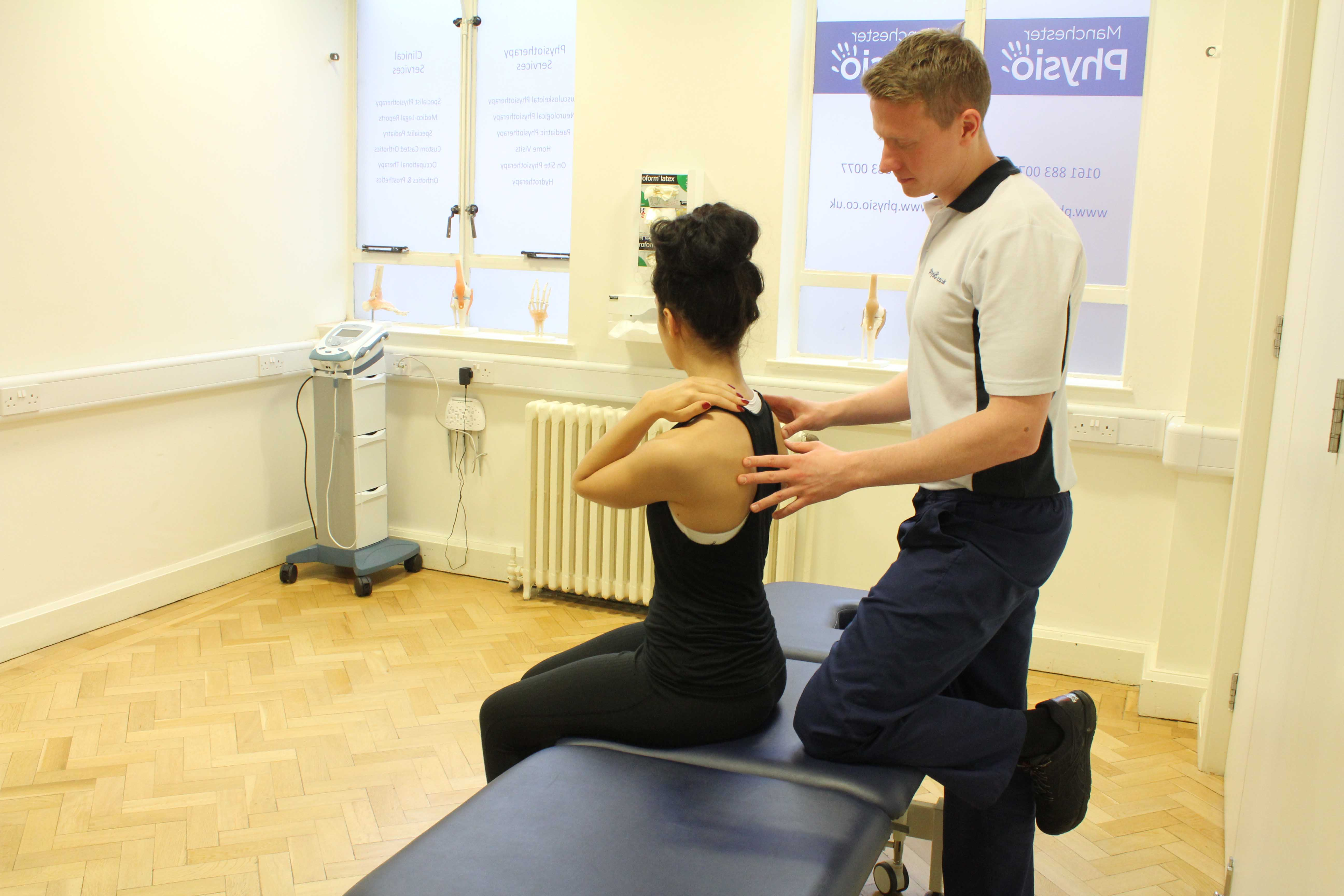 Active cycle of breathing exercises supervised by a specialist physiotherapist