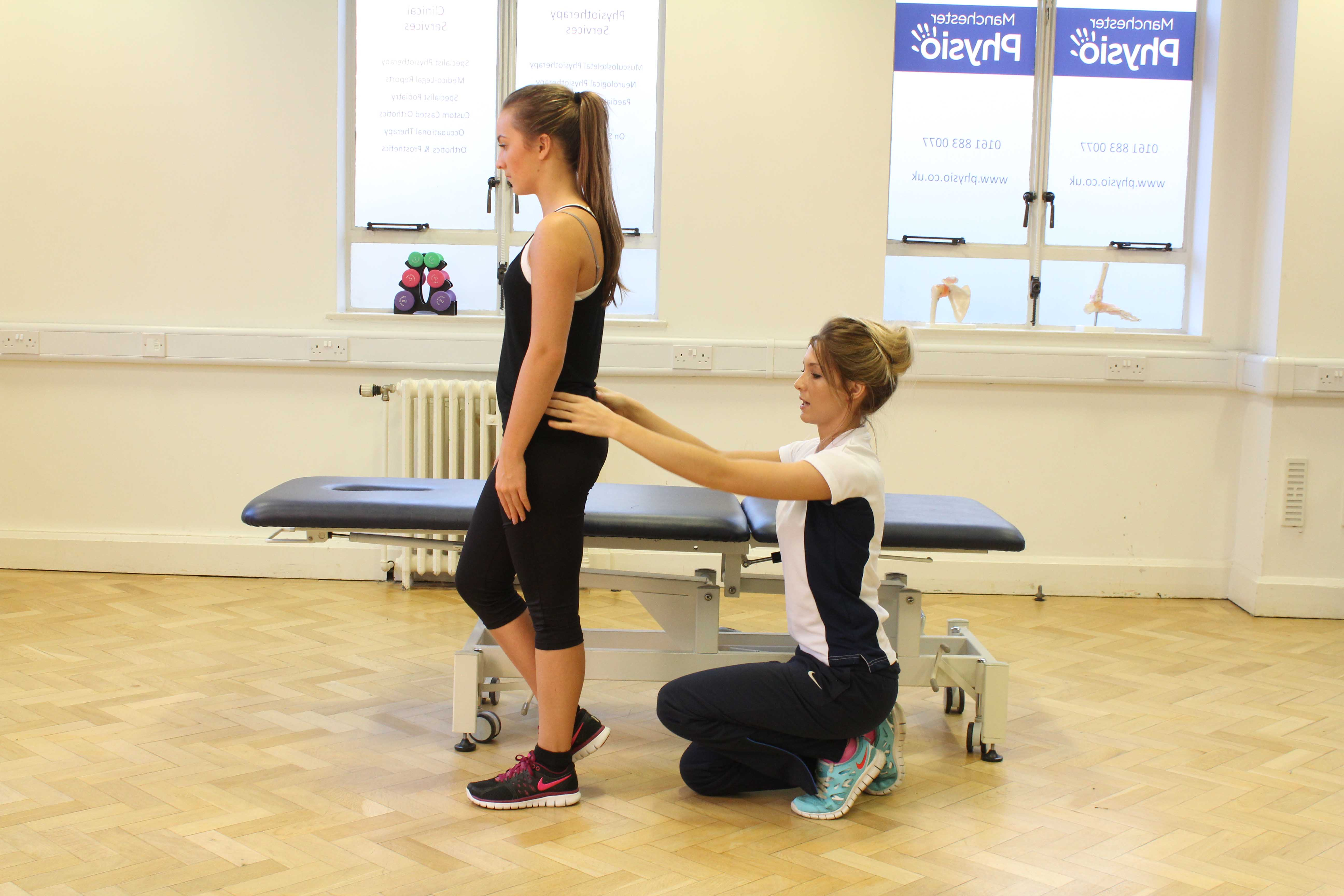 Our therapists can advise you on effective techniques to improve your posture and prevent muscle tightness.