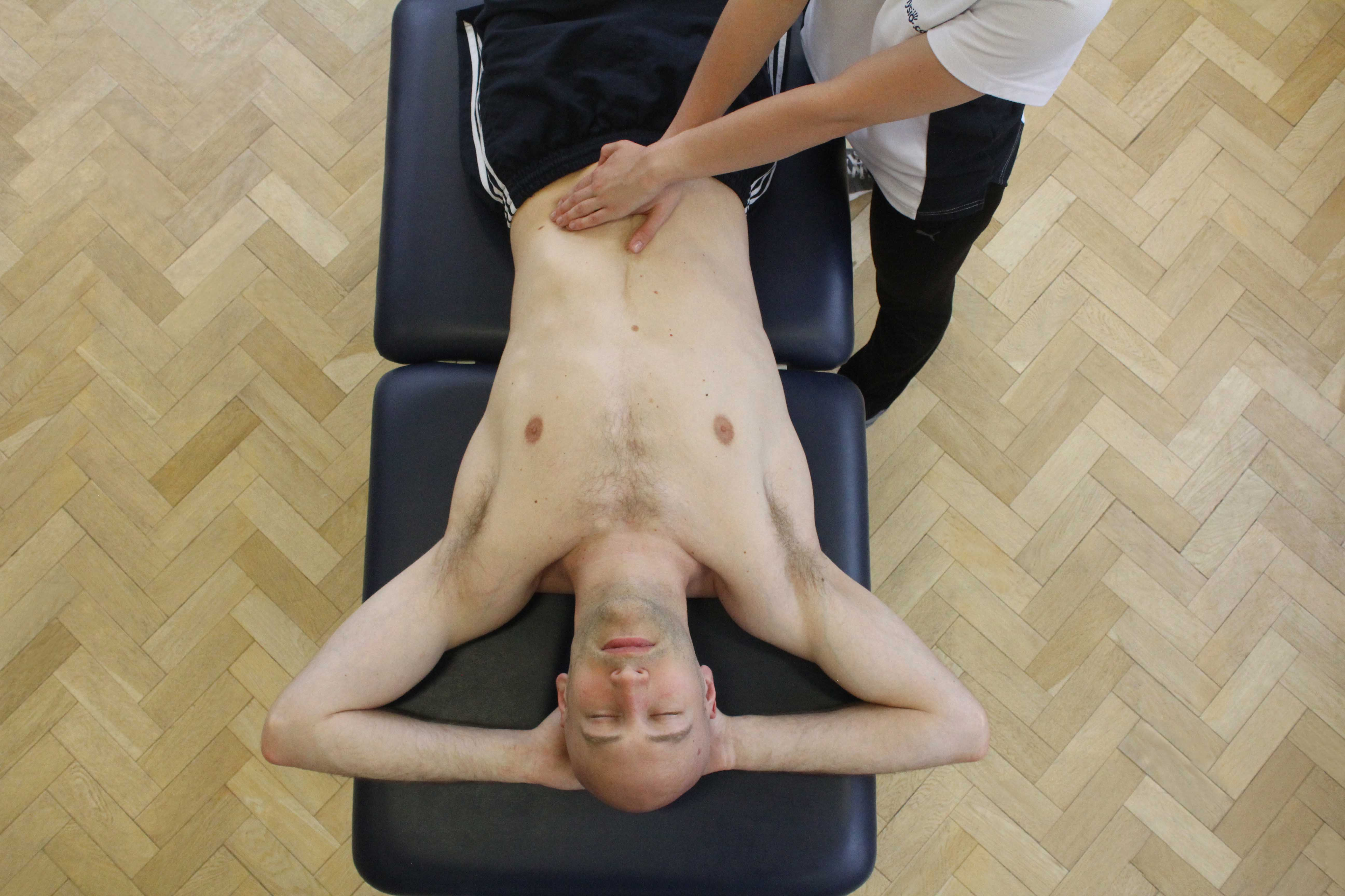 Mobilisations and stretches of the connective tissues in the hand and wrist by a neurological physiotherapist