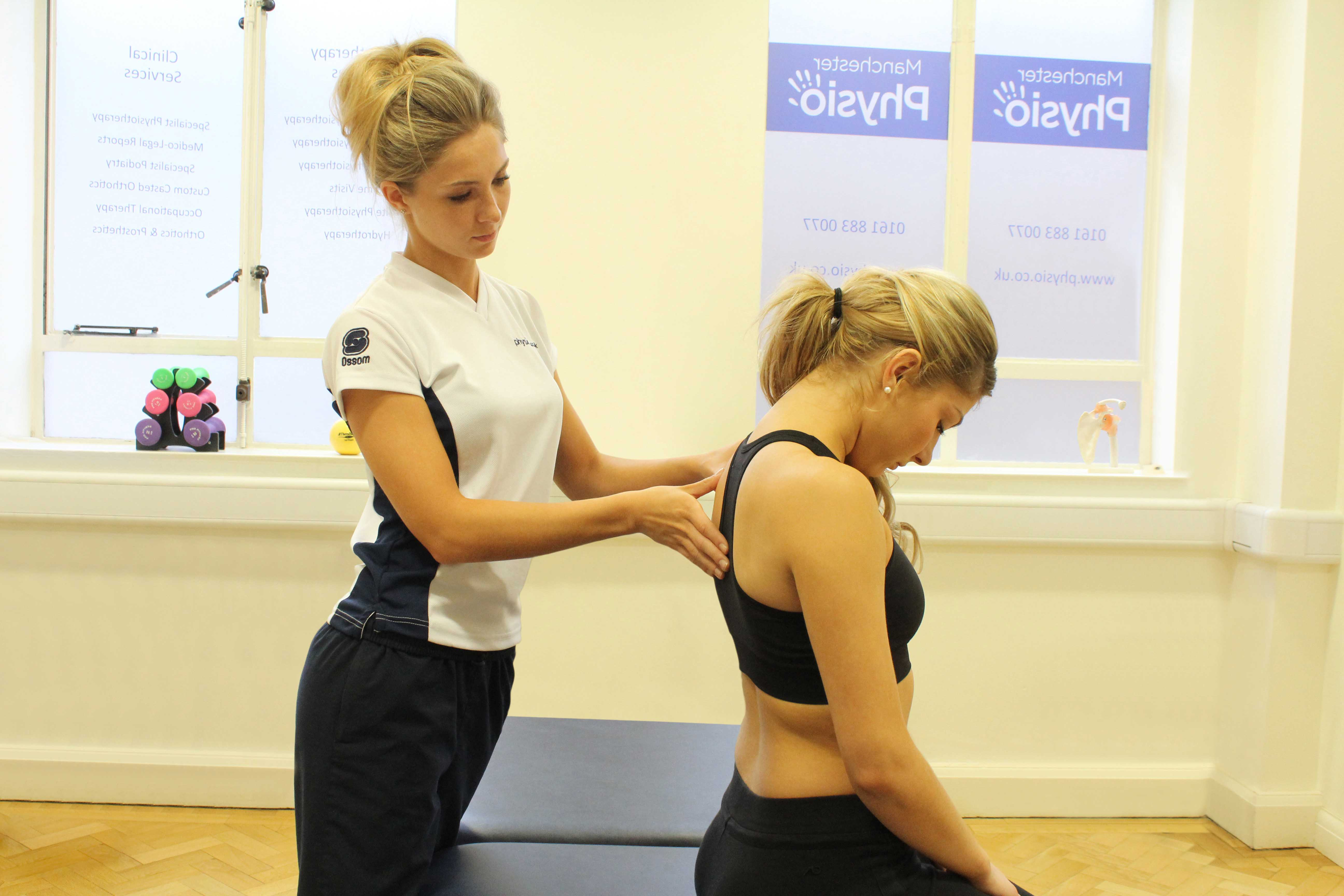 Active cycle of breathing exercises  and chest clearance exercises supervised by a specialist physiotherapist