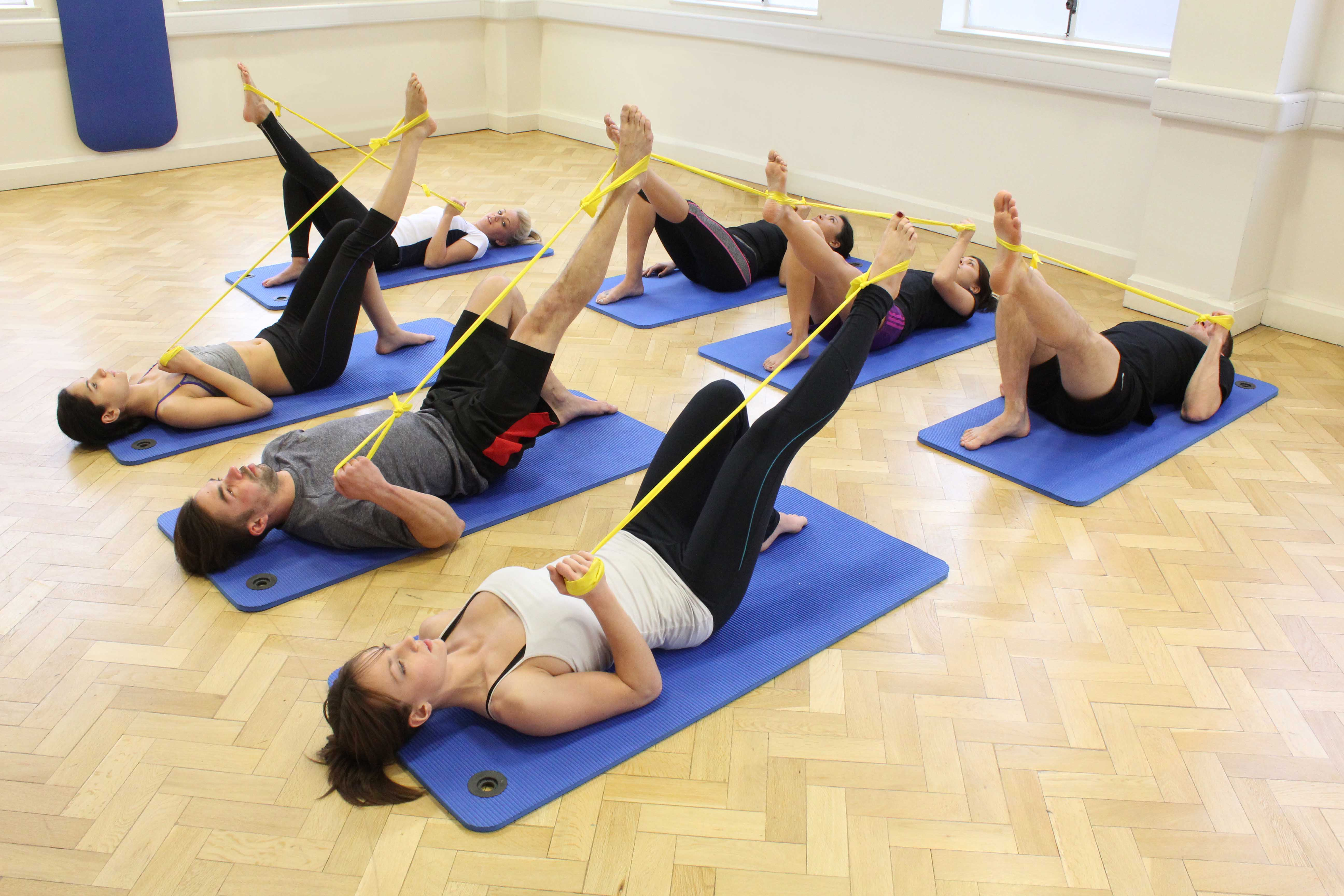 Therapist led pilates classes to improve exercise tolerance and shortness of breath