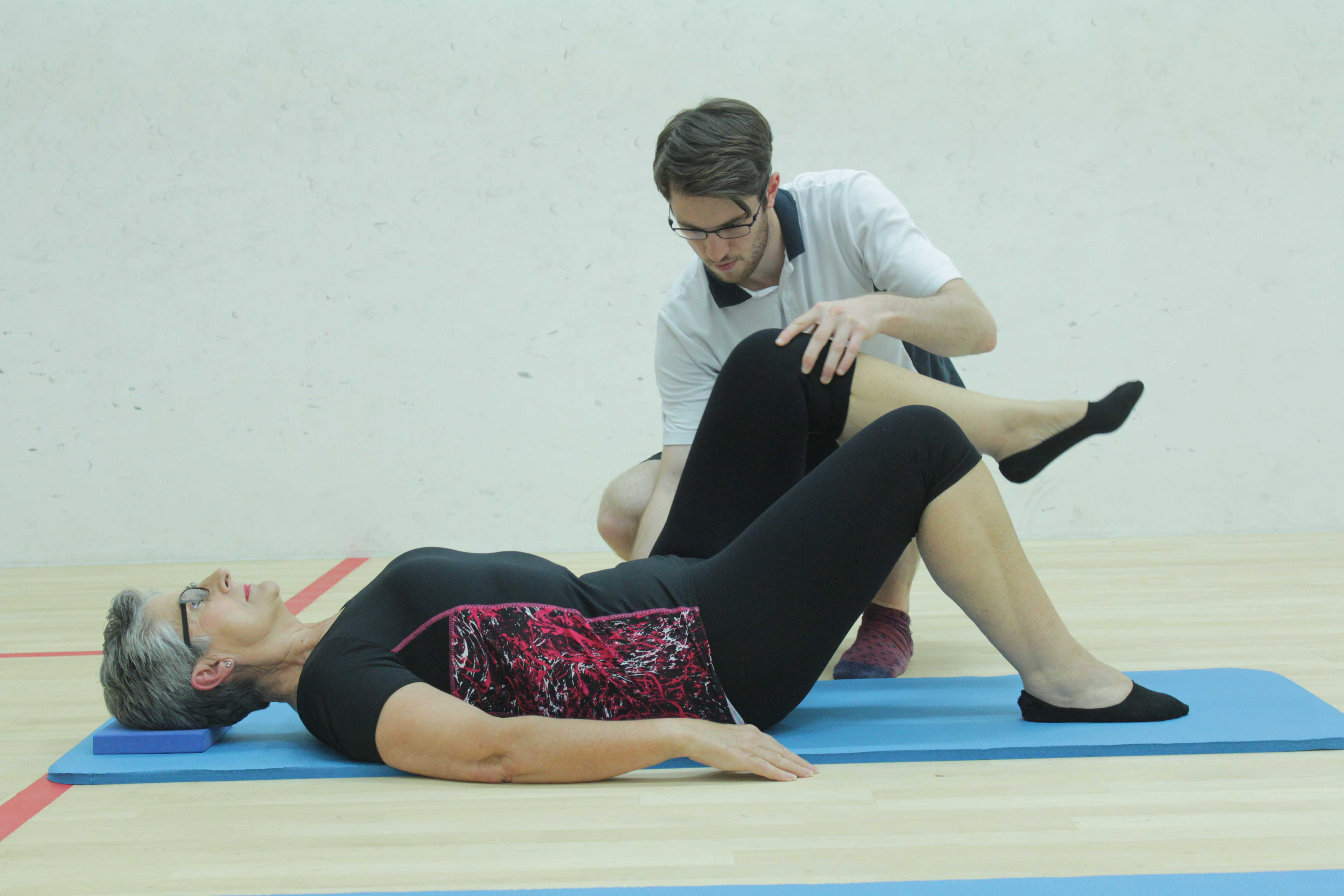 Our strengthening exercises can be adapted to suit your individual needs