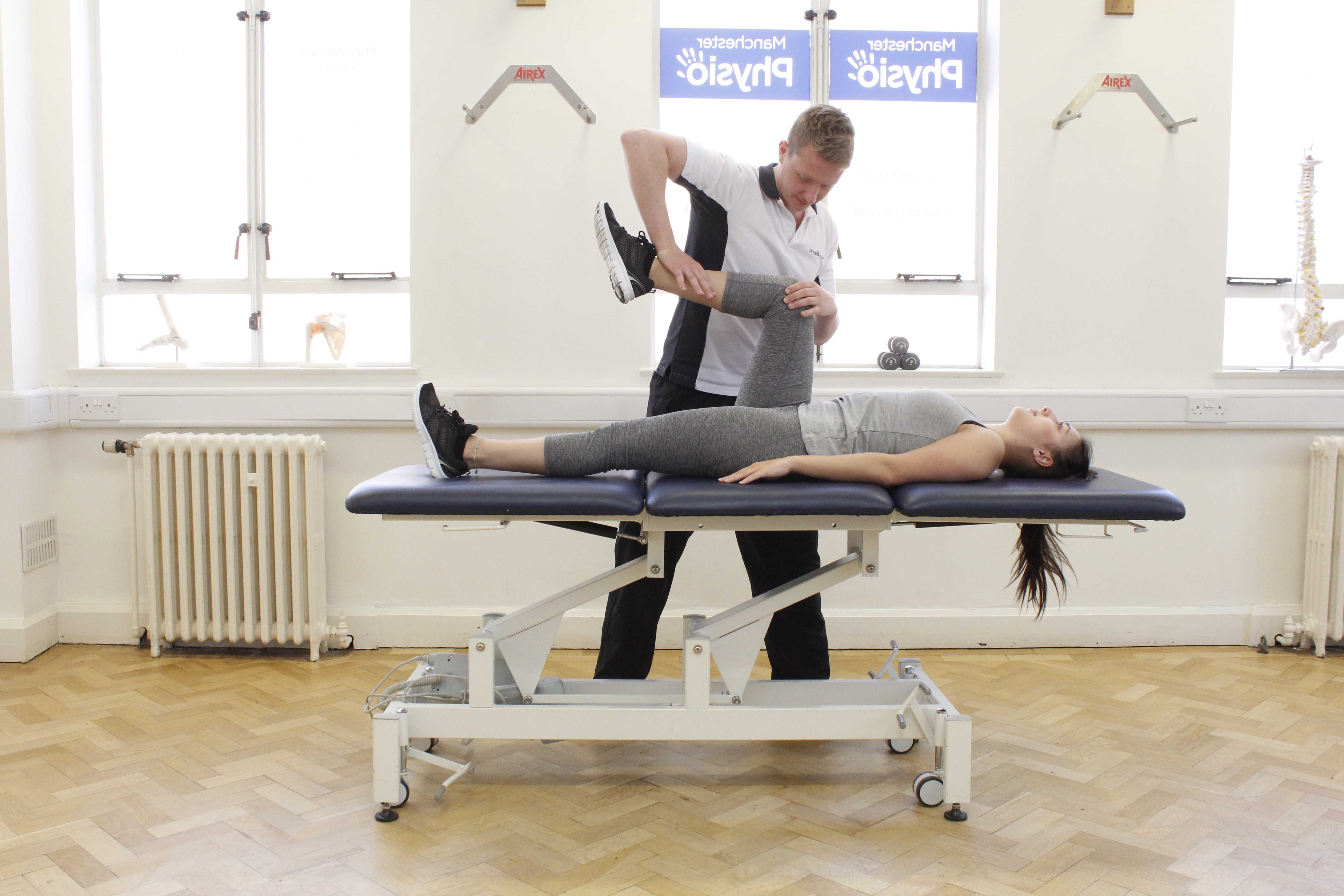 Mobilisations and stretches f the foot and ankle by an experienced physiotherapist