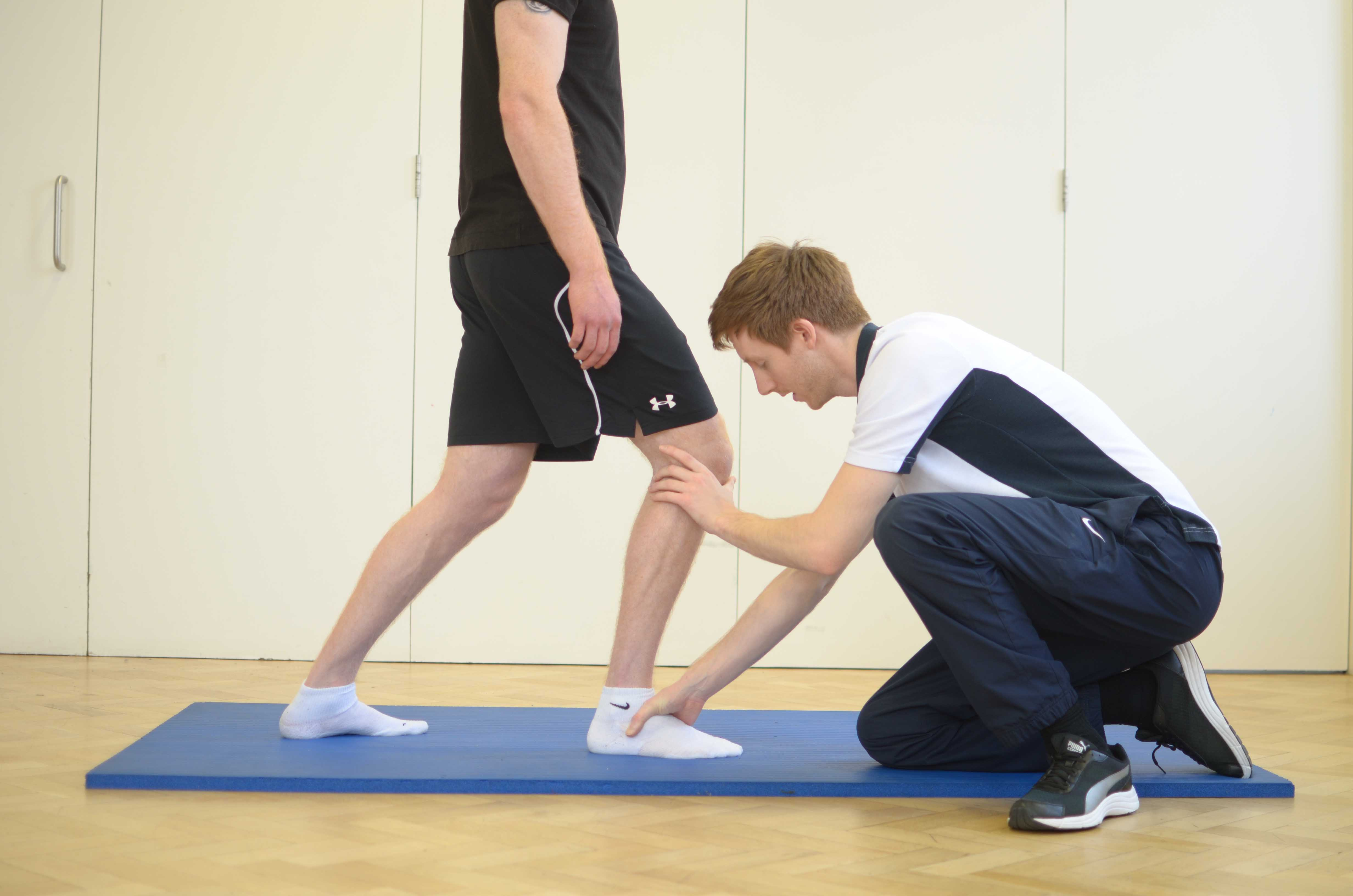 mobilisations and stretches of the foot and ankle