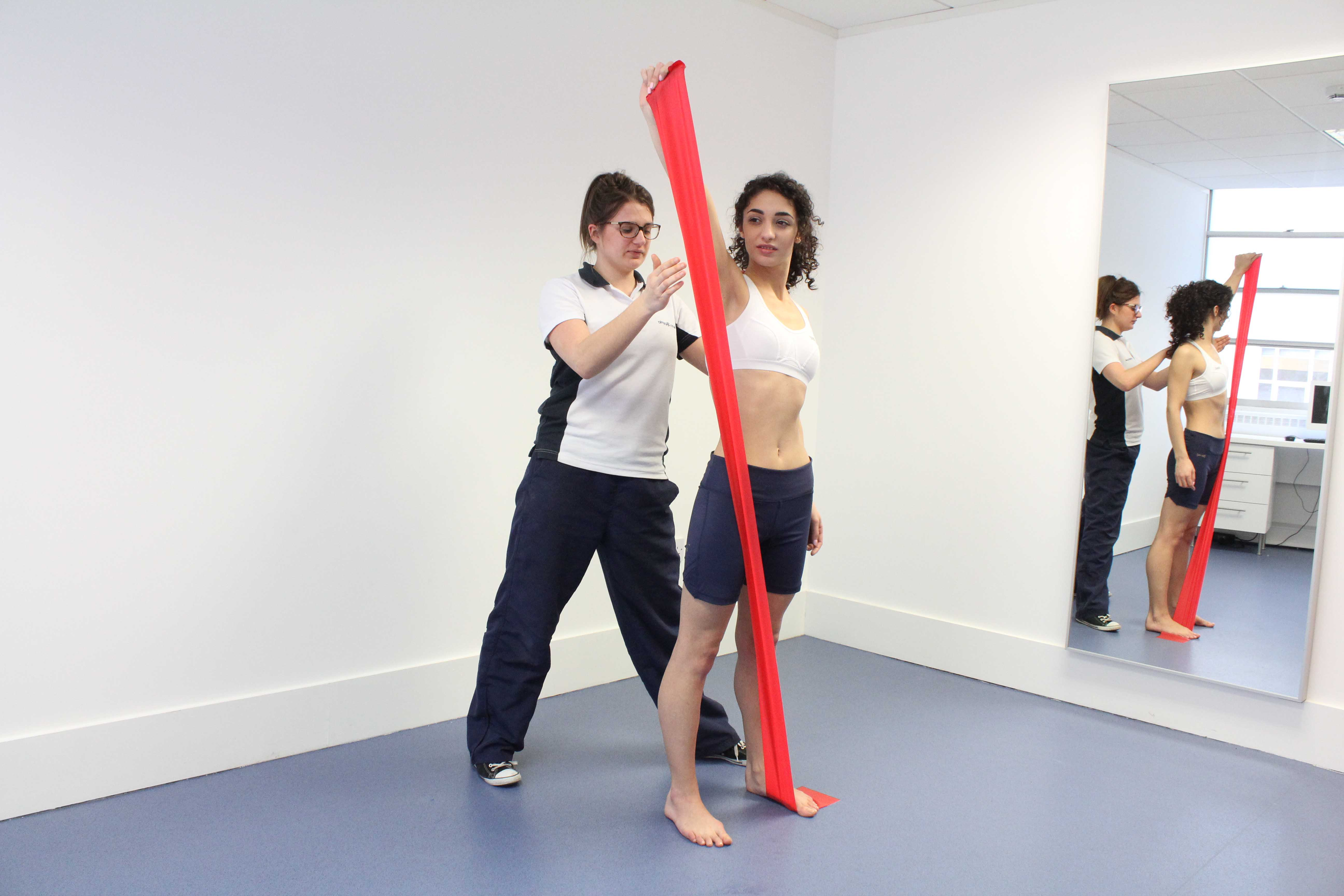 functional lower limb strengthening exercises supervised by an experienced physiotherapist