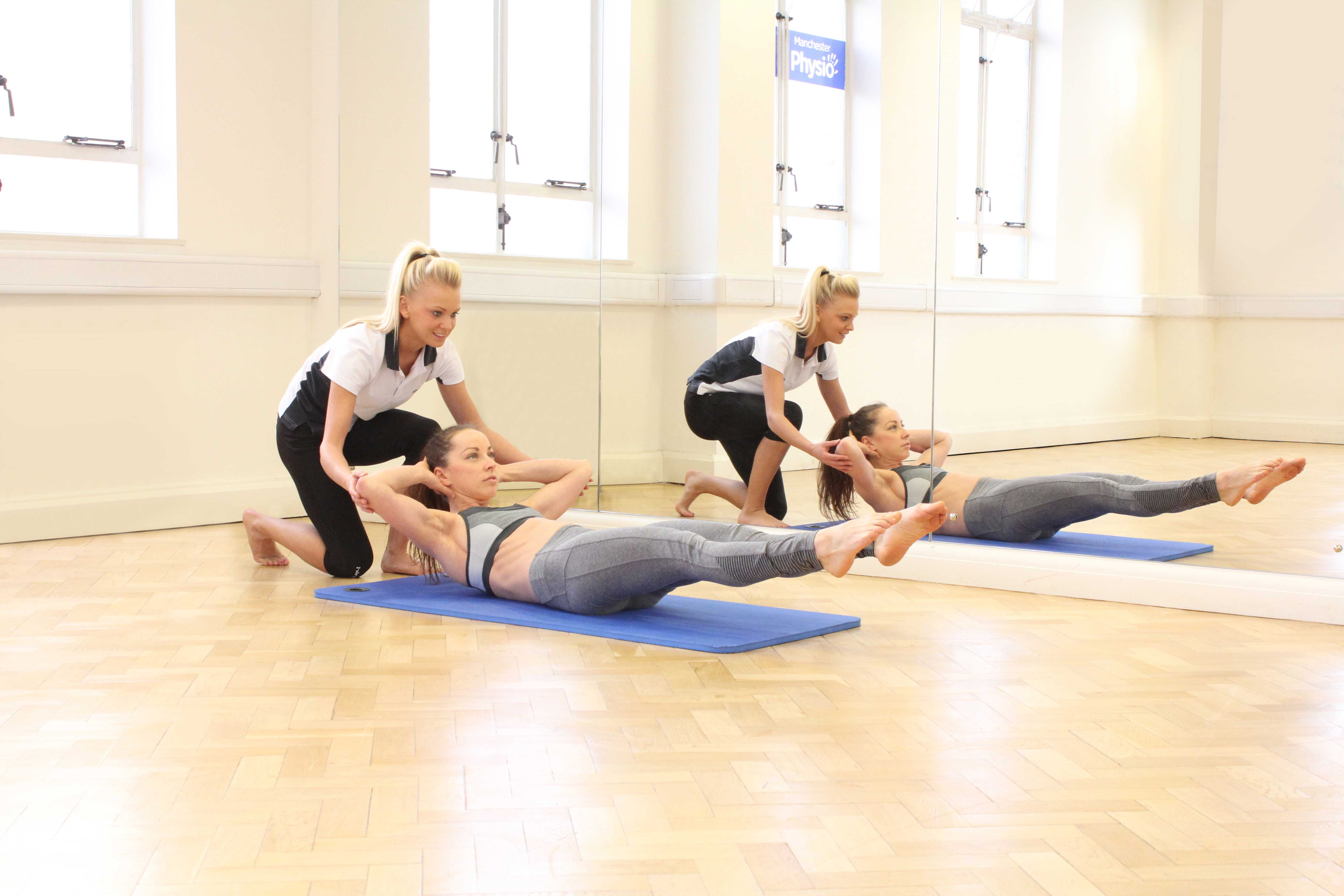 Small class size, specialist Physiotherapist led pilates sessions